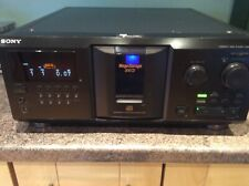 Sony 300 Disc CD Player CDP-CX355 - Compact Disc Storage and player