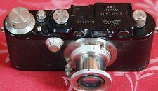 Leica III (model F) black SN.90165 y.1932 Elmar 3.5/50 SN.137047 mint