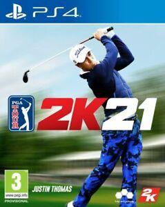 PGA Tour 2K21 PS4 New Sealed
