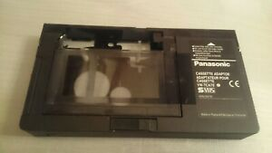 PANASONIC VHS C ADAPTER TAPE FOR VHS