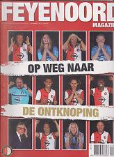 Programme / Magazine Feyenoord Rotterdam 10e jaargang no.10 Mei 2017