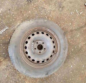 Renault Kangoo 2007-2013 Steel Wheel Rim + Tye 195 65 15 5mm Tread 4/5