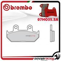 Brembo SA - Pastiglie freno sinterizzate anteriori per Honda CB125TT 1990>