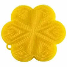 KUHN RIKON STAY CLEAN SCRUBBER - YELLOW FLOWER