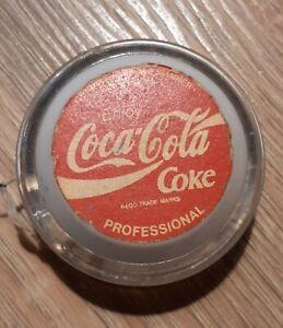 Vintage 1980's UK Release Genuine Russell Spinner Yo Yo - Coca Cola original