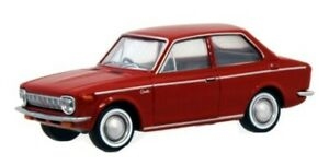 Limited Vintage TOMY TEC 1/64 Toyota Corolla 1100 2 Door 1966 Red LV-55b/Tomica