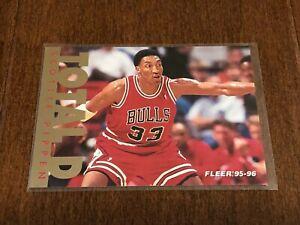 1995-96 Fleer Basketball Total D - Scottie Pippen - Chicago Bulls