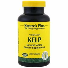 NATURE'S PLUS NORWEGIAN KELP NATURAL IODINE SUPPLEMENTS VEGETARIAN VITAMIN