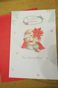 "Hallmark Christmas card ""Godmother"" god mother"