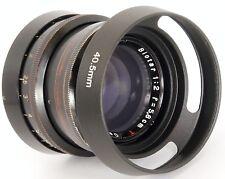 NIKKOR 1:1 Zeiss .5/50 BIOTAR 1:2 f = 5.8 cm E40.5 Fit ventilé Métal Lens Hood 40.5 mm