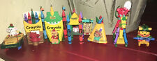 Crayola Crayon Series Hallmark Ornaments Assorted- 2,3,5,7,9 And 10