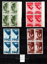 Rumänien, 1945, Mi. 855-858** Viererblock