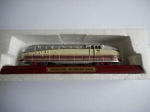 Atlas Editions 3 904 011 Henschel Wegmann 4-6-4 Locomotive mint in box
