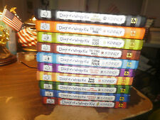 Set of 10 DIARY OF A WIMPY KID