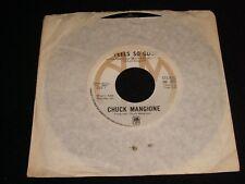 """CHUCK MANGIONE<>FEELS SO GOOD<>45 Rpm,7"""" Vinyl~Canada Pressing~A&M AM-2001"""