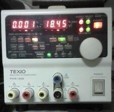 4 output Lab Power Supply +/-0-6V, +/-0-18V USB, 1mA, 10mV resolution Texio PW18