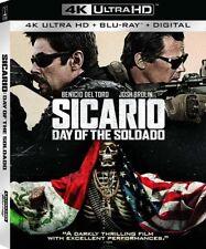 PREORDER: SICARIO - DAY OF THE SOLDADO (4K ULTRA HD ) - Blu Ray -Region free