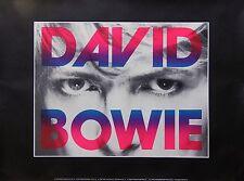 David Bowie 1987 ArtRock Philip Cushway Litho #8 Original