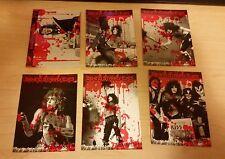 Kiss 2009 360 Blood Parallel Card Press Pass Cheap - you pick