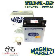 BATTERIA MAGNETI MARELLI YB14L-B2 12V 14Ah KAWASAKI LTD Shaft 750 1983