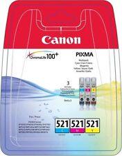 Cartuchos de tinta unidades incluidas 3 para impresora Canon