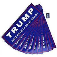 10Pcs Donald Trump for President 2020 Make America Great Again Bumper Sticker