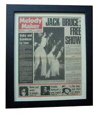 THE PIONEERS+Reggae+MELODY MAKER+ORIGINAL 1971+POSTER+FRAMED+EXPRESS GLOBAL SHIP