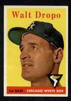 1958 Topps #338 Walt Dropo NM+ White Sox A3063