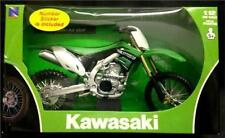 New Ray 1:12 Kawasaki Kxf 450 Diecast Modelo Juguete 2012 Motocross Verde