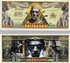 The Mummy Million Dollar Novelty Money