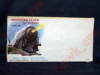 vVintage American flyer train catalog 1958 59 parts trains accesories booklet