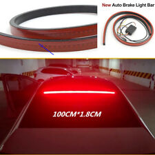 Red 100cm Car Rear Dynamic Streamer High Position Brake Light LED Warning Lamp