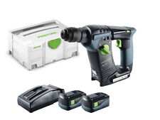 Perforadora percutora inalámbrica Festool | 18 Li 5.2 - GB | AIRSTREAM Baterías | Plus 574721