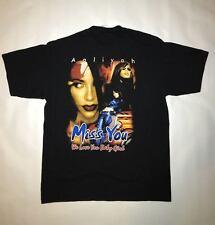 Aaliyah Dana Haughton Rip Memorial Hip Hop Boot Leg Rap T Shirt NEW!! r4nniioo
