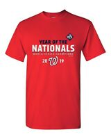 Year Of Nationals Washington Nats 2019 World Series Champions Red T-shirt