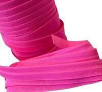 """5 yards Vanilla 5//8/"""" fold over elastic FOE DIY baby headbands /& hair ties"""