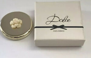 NEW Dolce Gabbana Dolce Gold Double Mirror Floral Compact Limited Edition
