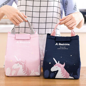 Portable Insulated Lunch Bags Totes Cooler Bento Lunch Box Storag for Adult Kids