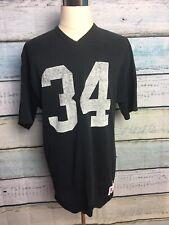 Vintage Russell Athletic Oakland Raiders Bo Jackson Football Jersey Sz Large #34