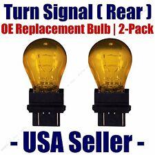 Rear Turn Signal/Blinker Light Bulb 2-pk Fits Listed Chevrolet Vehicles 4157NAK