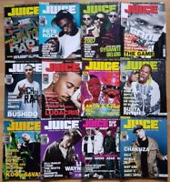 12x Juice HipHop and Culture 2008 Zeitschrift Magazin Musik Jahrgang Style Cultu