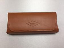 ⭐⭐ FOSSIL Brillen Etui NEU&OVP Hardcase Box Sonnenbrille Design Hülle Leder