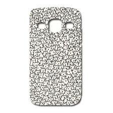 CUSTODIA COVER CASE PATTERN GATTI  CAT PER SAMSUNG GT-I9301 - Galaxy S3 Neo-