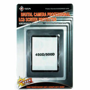 GGS Glass LCD Screen Protector for Canon 450D/500D NEW