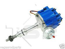 TSP HEI DISTRIBUTOR Ford 351C 429 460 Cleveland V8 Engines - BLUE Cap