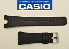 Genuine Casio ORIGINAL Watch Band STRAP Black Rubber RESIN G-8100