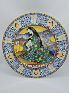 Noritake Ireland Weihnachten 1981 Japnese Colector Plate, Teller, Sammelsteller