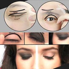 10pcs Cat Eyeliner Eye Liner Smokey Guide Stencil Model Shaper Quick Makeup Tool