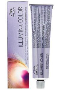 Wella Illumina Professionals Hair Dye 60ml ALL SHADES AVAILABLE