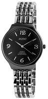 Men's Quartz Watch Black Silver Analogue Metal Strap Watch G-60463614619895